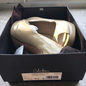 Cole Haan Shoes - NIB Cole Haan Mariela Air in Nougat Patent Sz 9.5